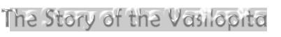 the vasilopita story