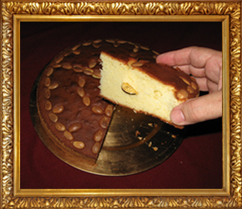 The Vasilopita Cake